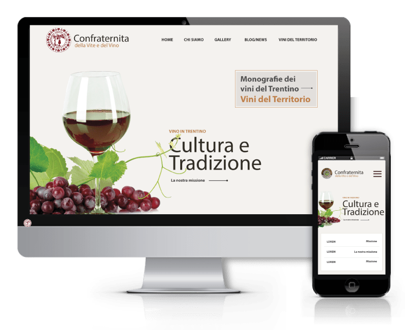 Confraternita della vite e del Vino - Web Marketing Synectix