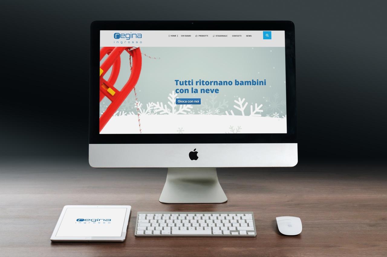 Regona srl Ingrosso - Web design synectix