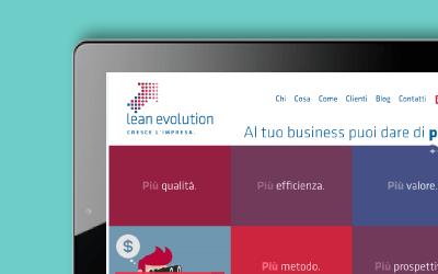 Lean Evolution web marketing