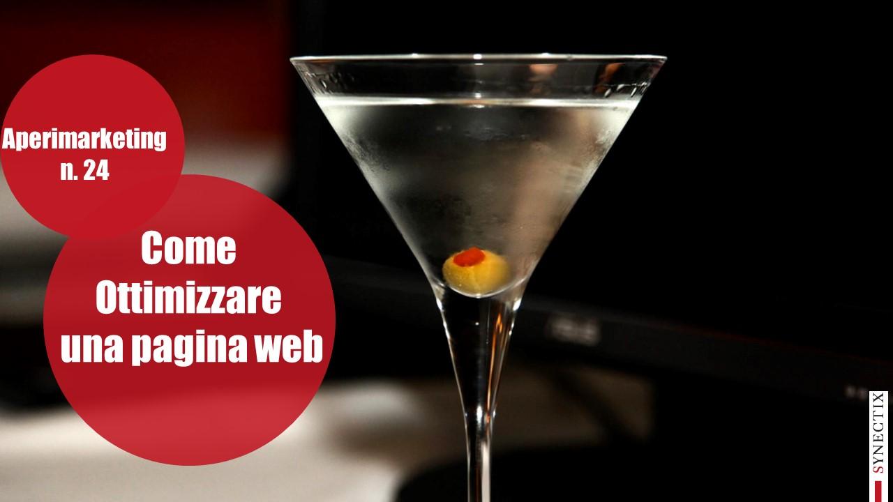 AperiMarketing N.23 – Come Ottimizzare una Pagina web