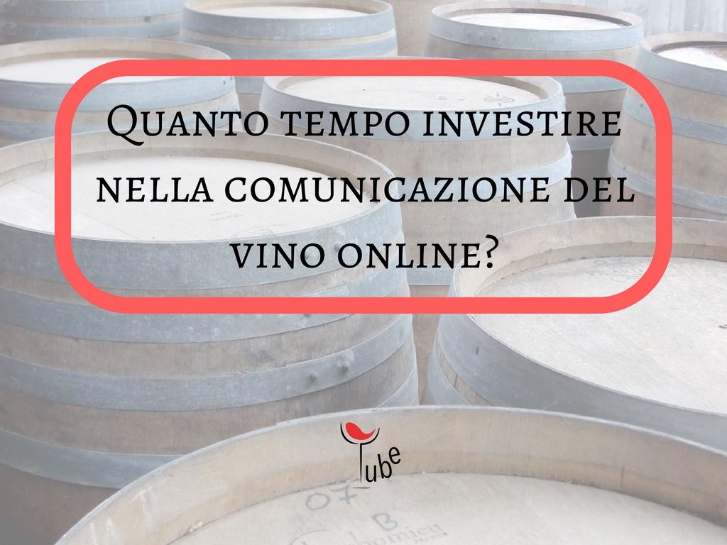 #8 Quanto Tempo dedicare alla nostra campagna marketing del Vino online?